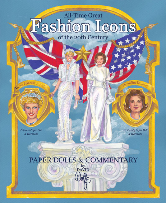 Fashion Icons Jacqueline Kennedy Princess Diana Paper Dolls