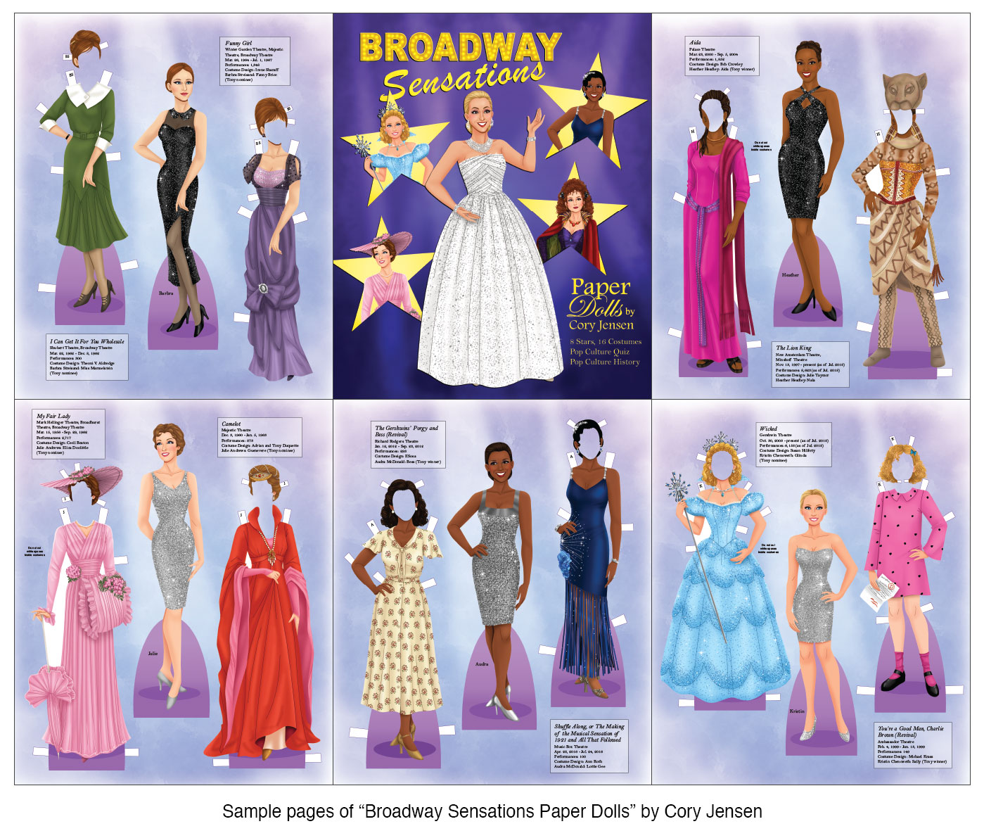 Broadway Sensations! - Click Image to Close