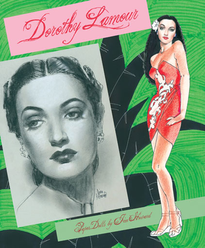 Dorothy Lamour Paper Dolls