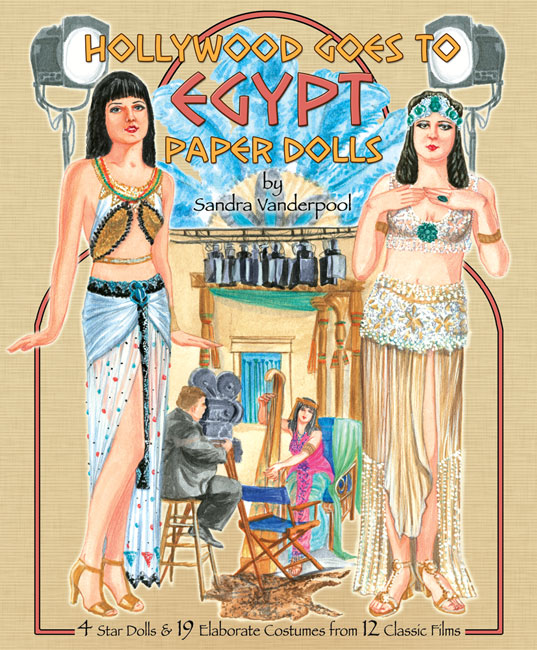 Hollywood Goes to Egypt Paper Dolls