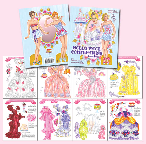 Hollywood Confections Paper Dolls