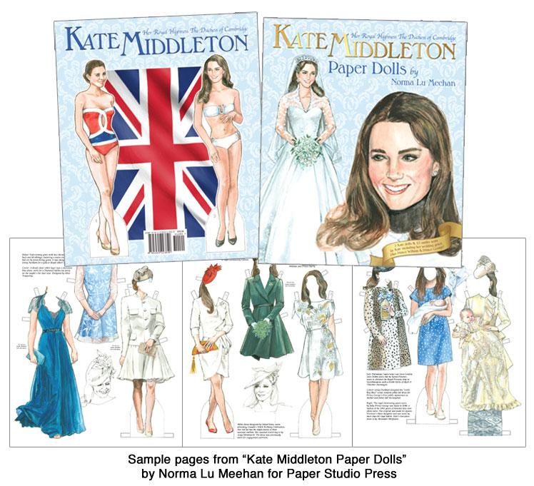 Kate Middleton Paper Dolls Kate Middleton S Fashions