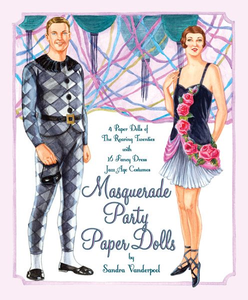 Masquerade Party Paper Dolls