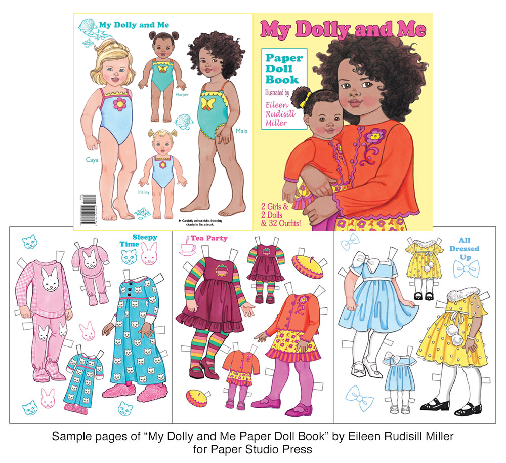 My Dolly and Me Paper Dolls