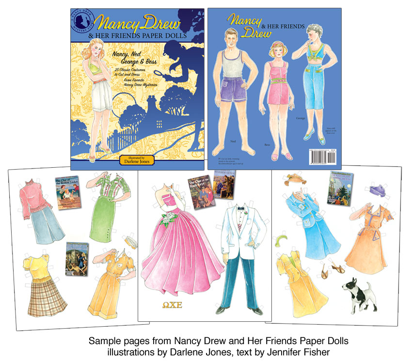 Nancy Drew and Her Friends Paper Dolls - Click Image to Close