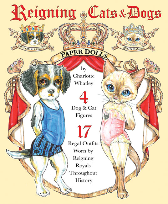Reigning Cats and Dogs Paper Dolls