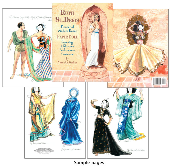 Ruth St. Denis Paper Dolls - Limited Edition