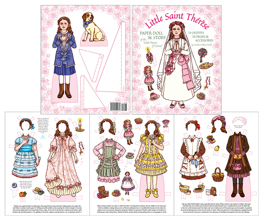 Little Saint Therese Paper Dolls
