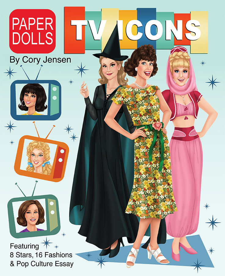 TV Icons Paper Dolls - Click Image to Close