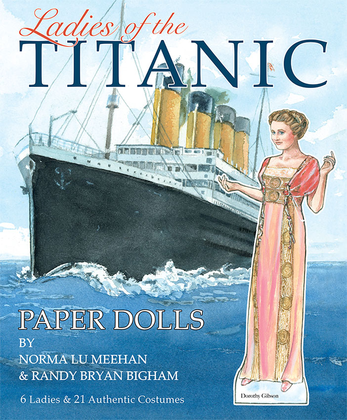 Ladies of the Titanic Paper Dolls - Click Image to Close
