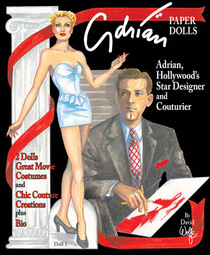 Adrian, Hollywood Designer Paper Dolls