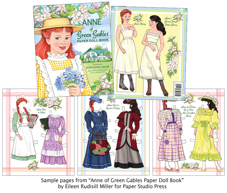 Anne Of Green Gables Paper Doll Book [Fashions For Kindred Spirits