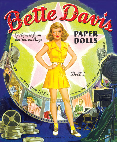 Bette Davis Paper Doll Book