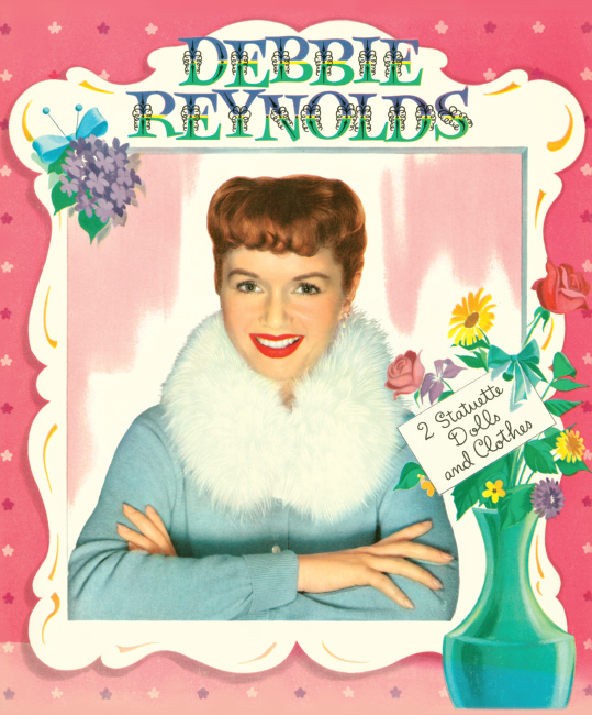 Debbie Reynolds Reproduction Paper Doll
