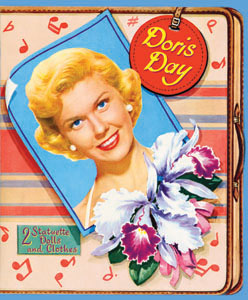 Doris Day Reproduction Paper Doll