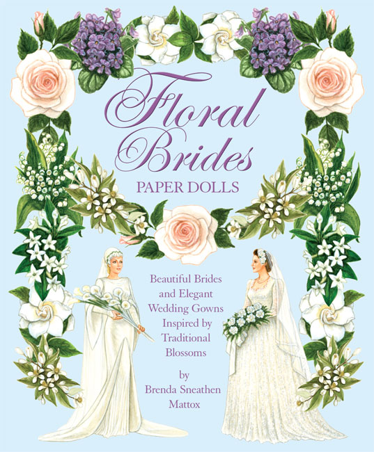 Floral Brides Paper Dolls - Click Image to Close