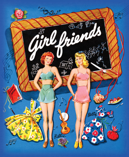 Girlfriends Paper Dolls