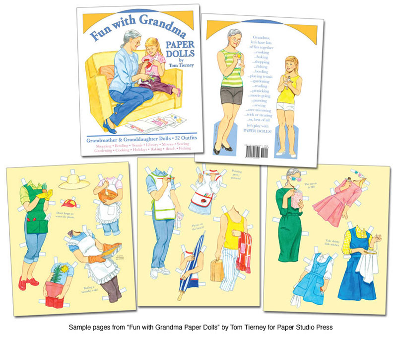 Fun with Grandma Paper Dolls by Tom Tierney