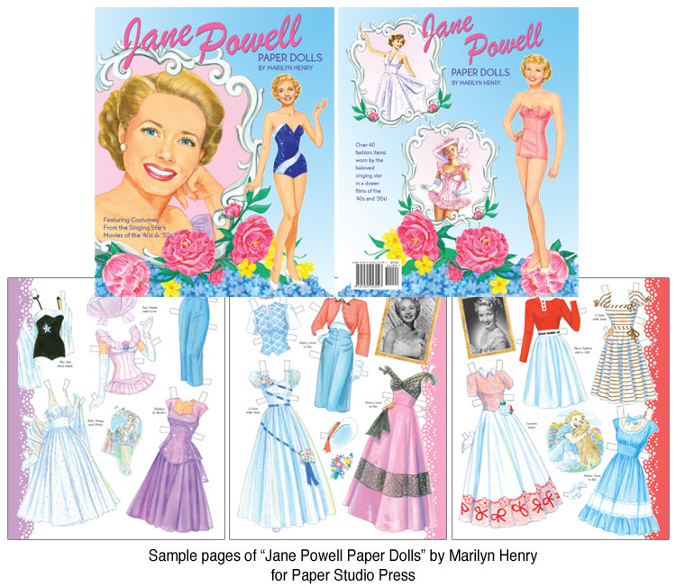 Jane Powell in the Movies Paper Dolls