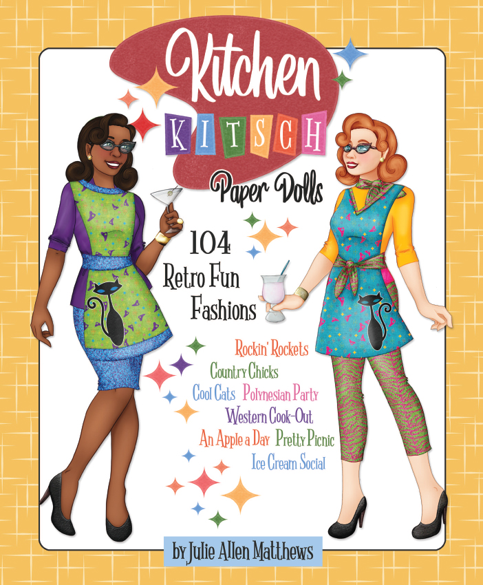 Kitchen Kitsch Paper Dolls