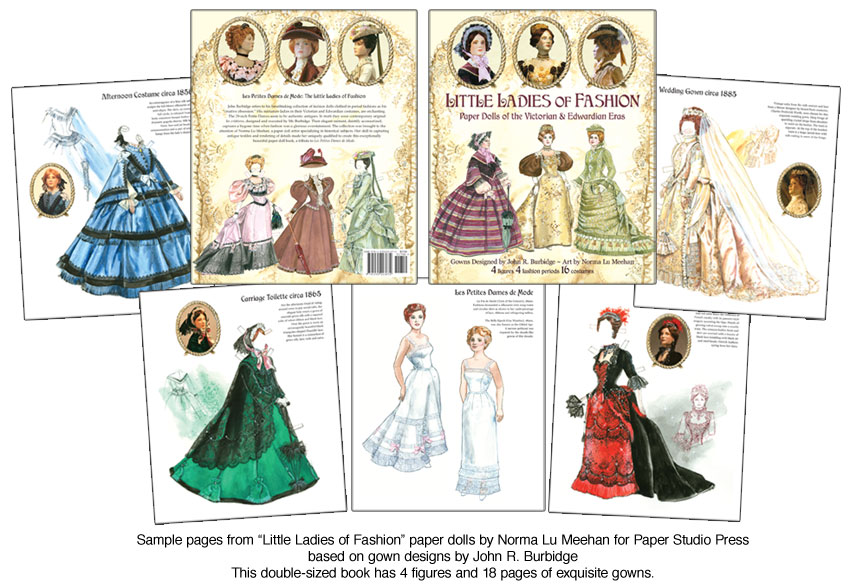 Little Ladies of Fashion Paper Dolls