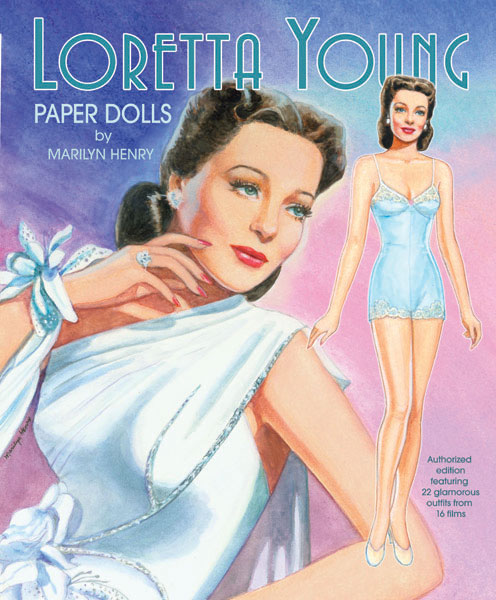 Loretta Young Paper Dolls