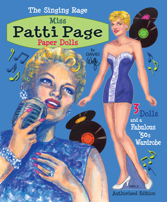 Patti Page Paper Dolls