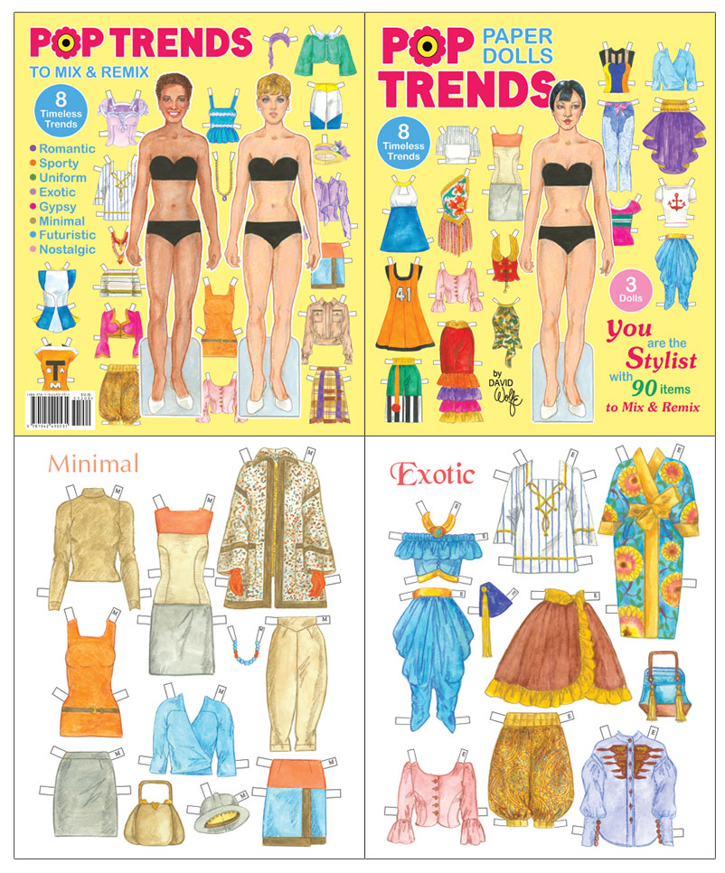 Pop Trends Paper Dolls - Click Image to Close