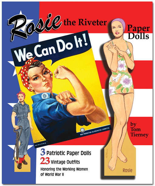 Rosie the Riveter Paper Dolls by Tom Tierney