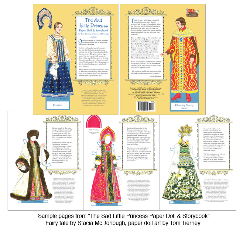 The Sad Little Princess Paper Doll & Storybook