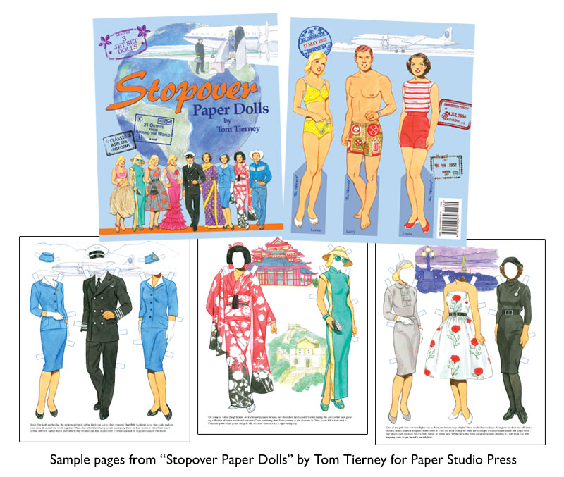 Stopover Paper Dolls by Tom Tierney