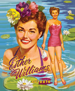 Esther Williams 1953 Reproduction Book