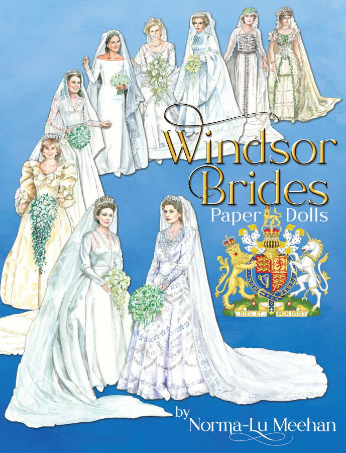 Windsor Brides Paper Dolls