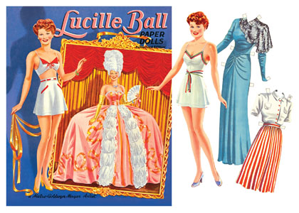 Lucille Ball Paper Doll